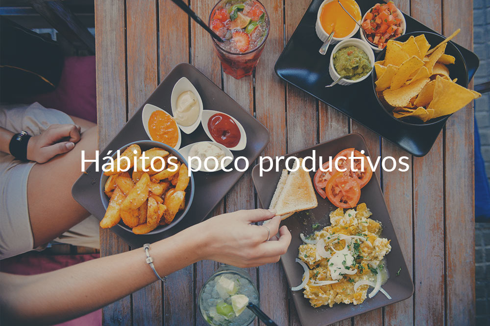 3 hábitos que están matando tu productividad