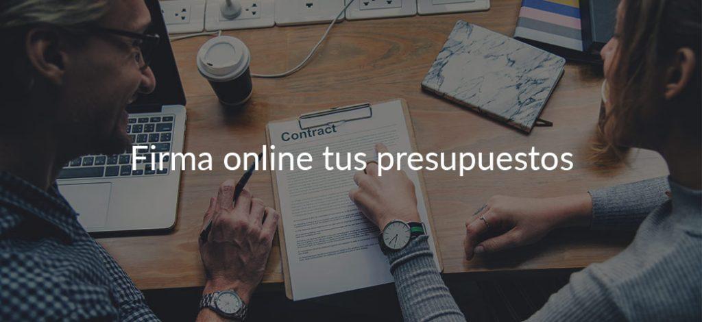 Nueva funcionalidad: ya puedes firmar online presupuestos con Quoters