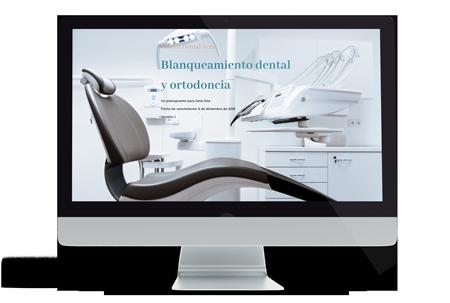 Plantilla de presupuesto para clínica denta