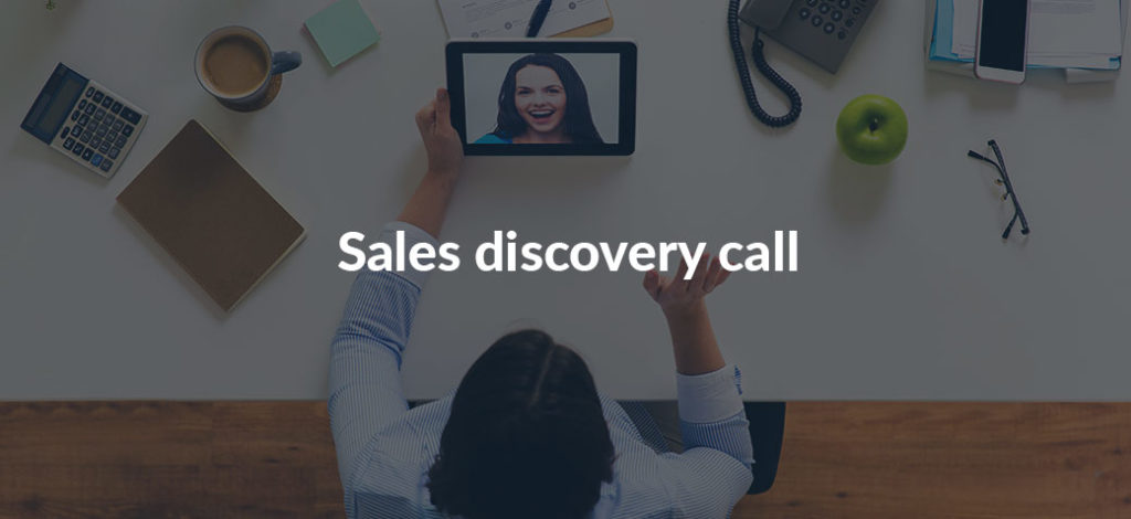 Successful sales discovery calls
