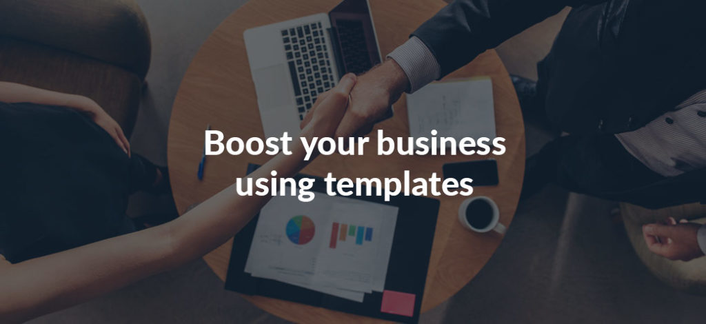 Boost your sales using proposal templates