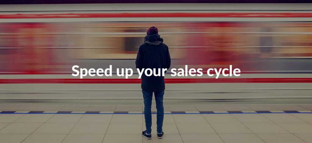 Strategies to speed up your business sales cycle