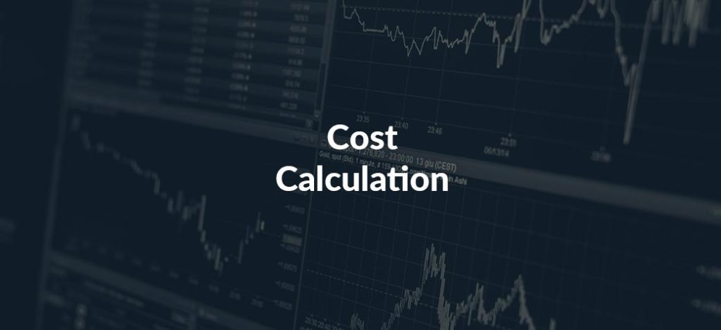 Calculate project costs